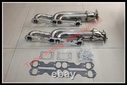 Pour Chevy Sbc 283/327/350/400 T3 Racing Performance Twin Turbo Collecteur D'échappement