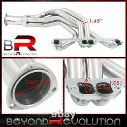 Pour Dodge Plymouth 2/4wd Truck 318 360 V8 Performance Full Length Header Exhaust