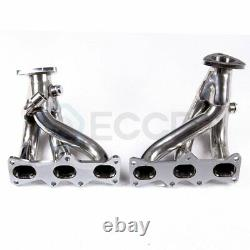 Pour Ford Probe/mazda Mx6 2.5 V6 Stainless Steel Racing Header Exhaust Manifold