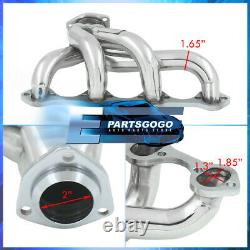 Pour Ford Small Block Sbc 289 302 351 V8 Steel Exhaust Racing Header Manifold Kit