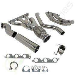 Pour Grand Prix/gtp/regal/impala 3.8l V6 Inox Racing Manifold Header/échappement