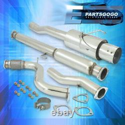 Pour Le Système D'échappement De Catback En Inox Honda Accord 94-97 3 Tuyau 4.5 Embout D'échappement