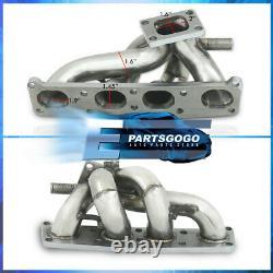 Pour Mazda 1.8l Fp 2.0l Fs Acier Inoxydable T2 T25 T28 Turbo Exhaust Manifold Kit