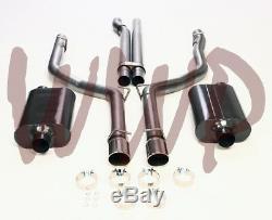 Retour Inoxydable Double 3 Cat Échappement Système 05-10 Chrysler 300 C 300c Srt8 V8 6.1l