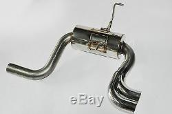 Silencieux D'échappement Racing Group N 63.5mm 2.5 Pour Mini Cooper S 1.6i R50 R52 R53