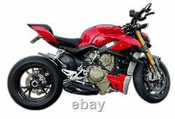 Silencieux D'échappement Slip-on De Course V4 Cs De Ducati Streetfighter 2020 + Db Killer
