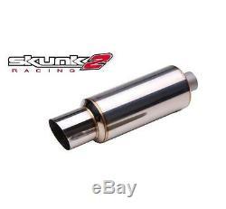 Skunk2 Racing Universal 3 Silencieux En Acier Inoxydable