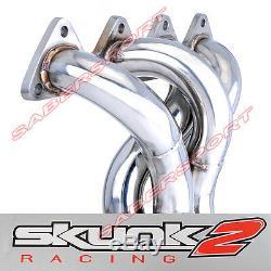 Skunk2 Série Alpha Racing En-tête Pour Honda CIVIC D-series D15 D16