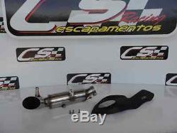 Suzuki Gsx-r600 Gsx-r 750 07/06 Cs Course Slip-on Silencieux D'échappement + Baffle
