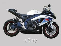 Suzuki Gsxr600 Gsxr750 Gsx-r Srad 2008/10 Échappement Complète + Silencieux Cs Racing