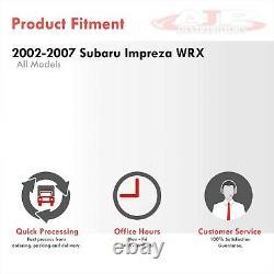 Turbo Échappement Bellmouth Down Pipe Down Pipe Downpipe Pour 2002-2007 Subaru Impreza Wrx Sti