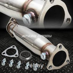 Tuyau D'échappement 4muffler Tip Racing Catback+hi-flow Pour 94-01 Integra Dc4 Db7