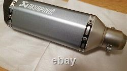 Universal Motorcycle Akrapovic Exhaust Modifier Racing Muffler Performance Sound