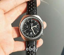 Vintage 1970's Heuer Montreal Cal. 12 Automatic Racing Chronograph Watch