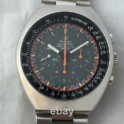 Vintage Omega Speedmaster Mark 2 Racing Dial Chronograph Manuel Wind Cal 861