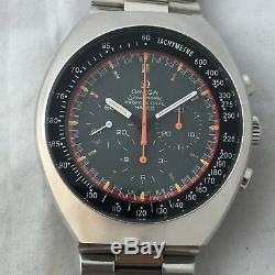 Vintage Omega Speedmaster Mark 2 Racing Dial Manuel Chronographe Vent Cal 861