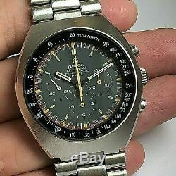 Vintage Omega Speedmaster Mark 2 Ref 145,014 Racing Dial Manuel Vent Chronographe