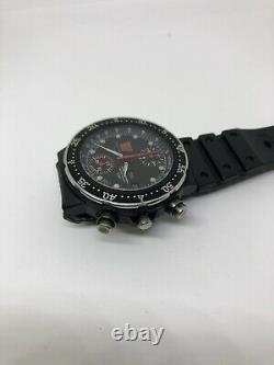 Walter Wolf Racing Formule 1 Citizen Chronograph Automatique 8110 Watch Vintage