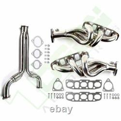 Y-pipe Downpipe Racing+exhaust Header Pour Nissan 350z Pour Infiniti G35 03-07