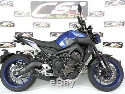 Yamaha Fz-09 / Mt-09 Systèmes D'échappement + Silencieux + Tête 2014 Sur Cs Racing