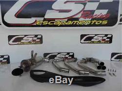 Yamaha Mt07 Fz07 Systèmes D'échappement + Silencieux + Tête 2014 Sur Cs Racing