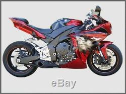 Yamaha R1 2009-2014 Slip-on Silencieux D'échappement Cs Racing Db Killer -cliquez Pour La Vidéo