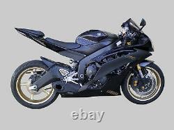 Yamaha R6 2006-16 Échappement Complet + Silencieux + Header Cs Racing Deep Sound